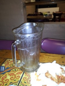 Empty Pitcher