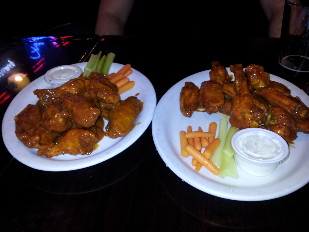 Flancers hot wings prickly pear wings