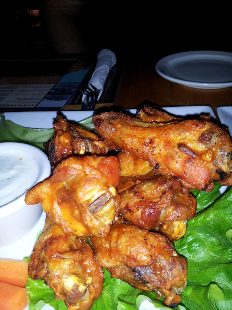 Arcadia Tavern Hot wings