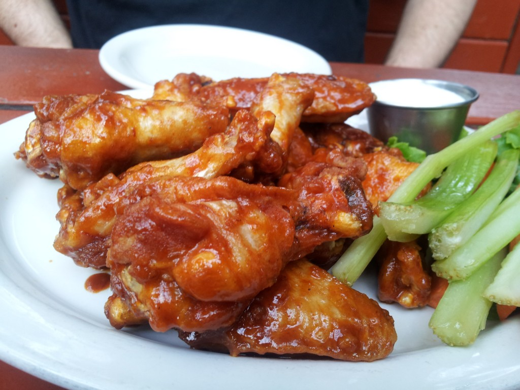Casey Moore's Chipotle wings