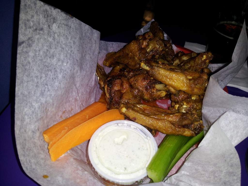 spicy ranch wings draft house