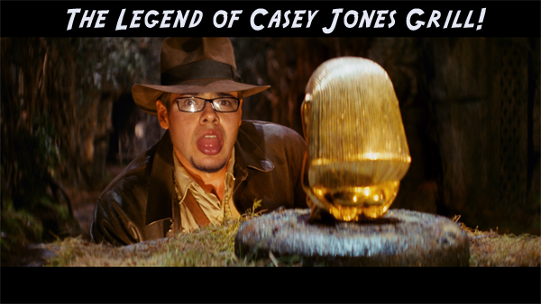 raiders of the lost ark, casey jones grill, wings