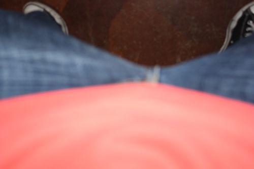 And then I took pictures of everyone's crotch.  Mine looks regal.
